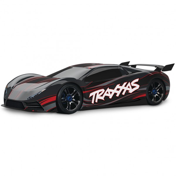 Автомобиль Traxxas XO-1 Brushless 1:7 RTR 686 мм 4WD 2,4 ГГц (64077 Black)