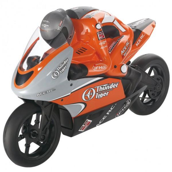 Мотоцикл Thunder Tiger Racing Bike SB5 Brushless 1:5 RTR 417 мм 2,4 ГГц (6575-F273)
