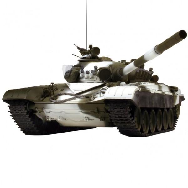 Танк VSTank Pro Russian Army Tank T72 M1 1:24 RTR 420 мм IR танковый бой (A02105931)