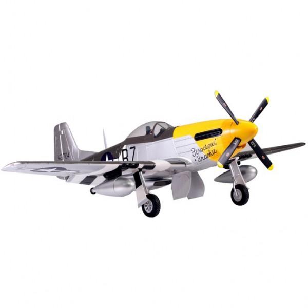 Cамолет FMS P-51D Mustang PNP 1700 мм (FMS041 Yellow)